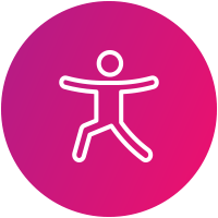 Yoga und Pilates Icon